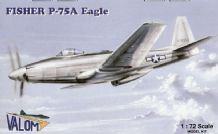 Valom 1/72 Model Kit 72010 Fisher P-75A Eagle